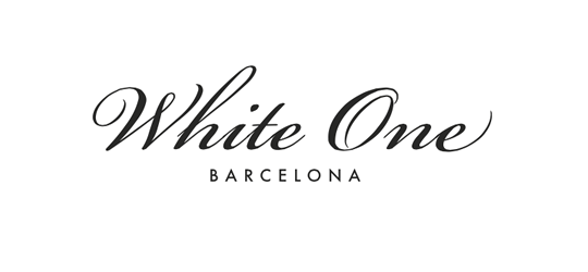 logo white one